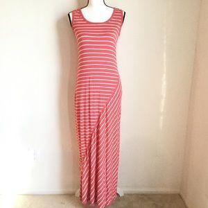 【Max Studio】Stripe maxi dress